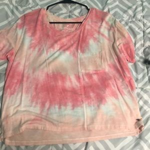 American Eagle pink soft and sexy t shirt